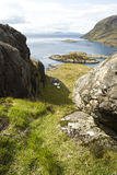 Isle of Skye. Picture looking out from the isle of skye Royalty Free Stock Images