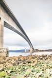Isle of Skye Bridge - Highlands of Scotland - concrete bridge from mainland Scotland to Isle of Skye. Highlands stock image