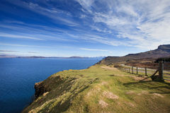 Isle of Skye - coastal landscape Royalty Free Stock Photo