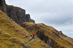 Isle of Skye hiking Stock Photography