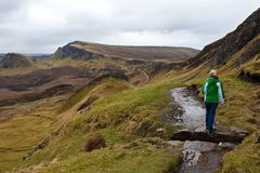 Isle of Skye Hiking Royalty Free Stock Photography