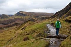 Isle of Skye Hiking Royalty Free Stock Photography