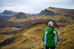 Isle of Skye Hiking Royalty Free Stock Photos