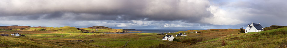 Isle of Skye pano Stock Photography