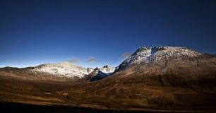 Isle of Skye, stars early morning Stock Photo