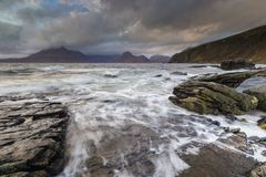 Elgol royalty free stock image