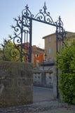 Isle-sur-la-Sorgue in Provence. A gateway at L'Isle-sur-la-Sorgue in Provence Royalty Free Stock Photos