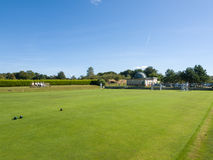 ISLE OF THORNS, SUSSEX/UK - SEPTEMBER 11 : Lawn Bowls Match at I Stock Photo