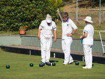 ISLE OF THORNS, SUSSEX/UK - SEPTEMBER 11 : Lawn Bowls Match at I Stock Images