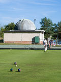 ISLE OF THORNS, SUSSEX/UK - SEPTEMBER 11 : Lawn Bowls Match at I Royalty Free Stock Photography