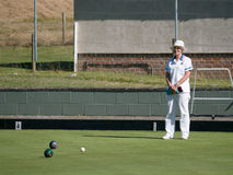 ISLE OF THORNS, SUSSEX/UK - SEPTEMBER 11 : Lawn Bowls Match at I Stock Image