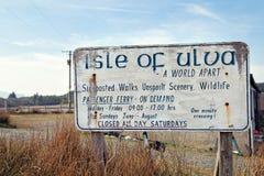 Isle of Ulva : a world apart Royalty Free Stock Photo