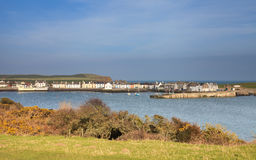 Isle of Whithorn Harbour Royalty Free Stock Images