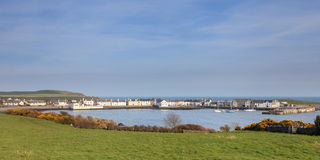 Isle of Whithorn Harbour Stock Image