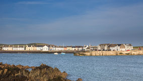 Isle of Whithorn Harbour Stock Images