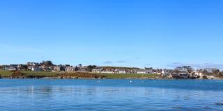 Isle of Whithorn Waterfront Stock Photos