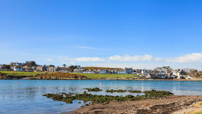 Isle of Whithorn Waterfront Royalty Free Stock Photography