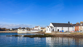 Isle of Whithorn Waterfront Royalty Free Stock Image