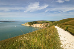 Isle of Wight footpath Stock Photography