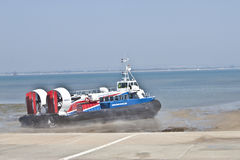 Isle of Wight Hovercraft Stock Images