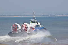 Isle of Wight Hovercraft Stock Image