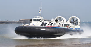 Isle of Wight Hovercraft Royalty Free Stock Image