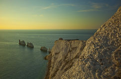 Isle Of Wight Needles Stock Photography
