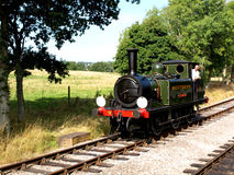 Isle of Wight Steam Train Stock Images