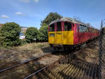 Isle of Wight train Stock Images