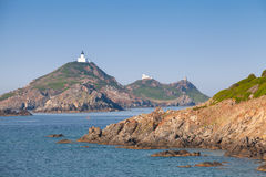 Isles Sanguinaires, small archipelago, Corsica Stock Images