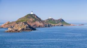 Isles Sanguinaires, small archipelago near Ajaccio Stock Image
