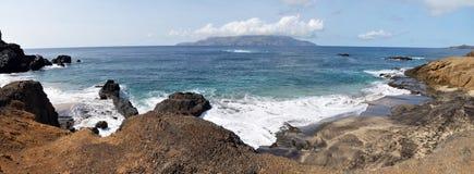 Islet of Djeu in proximity of Island Brava Royalty Free Stock Photos