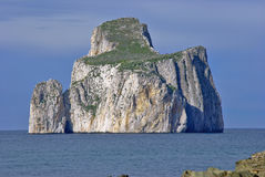 Islet of Pan di Zucchero royalty free stock photo