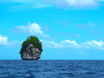Islet in the Philippines. An  islet outside El Nido in the Philippines Royalty Free Stock Images
