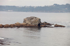 Islet in the sea Royalty Free Stock Images