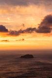 Islet sunset Stock Image