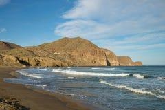 Isleta beach Stock Image