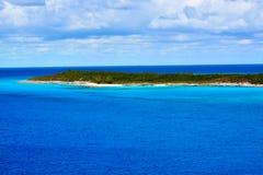 Isleta de la media luna, Bahamas Fotografía de archivo libre de regalías