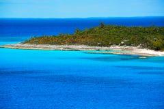 Isleta de la media luna, Bahamas Fotos de archivo libres de regalías