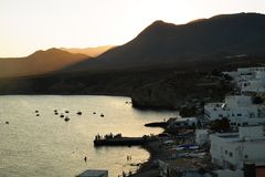 Isleta del Moro, Альмерия стоковые изображения