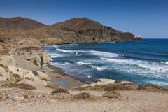 Isleta del Moro stock afbeelding