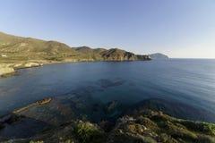 Isleta del moro in Cabo DE Gata royalty-vrije stock foto