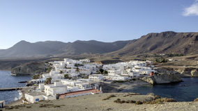 Isleta del moro, cabo de gata, andalusia, spain, europe, the village Royalty Free Stock Photo