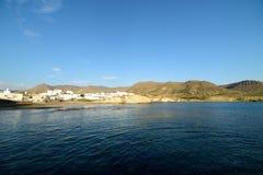 Isleta del moro in Cabo de Gata Stock Photo