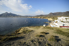 Isleta del moro in Cabo de Gata Stock Images