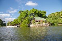 Isletas de granada sikt, turist- naturligt ställe royaltyfri foto