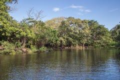 Isletas från Nicaragua en sjö royaltyfria bilder