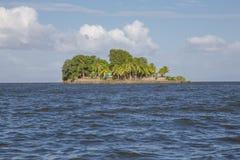 Isletas små öar från Granada, Nicaragua fotografering för bildbyråer