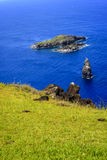 Islets of Easter Island , Chile. Stock Photography