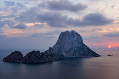 The islets of Es Vedra and Es Vedranell - Ibiza Stock Image